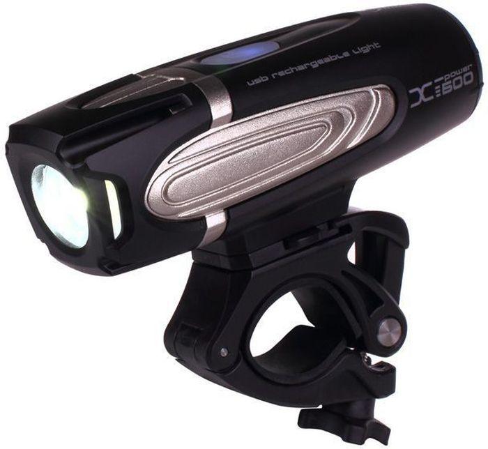 Фонарь передний Moon X-Power600, 1 диод, 7 режимов162Особенности CREE XM-L (T6) Сверх-яркие LED светодиоды Быстросъемная lithium ion батарея(3.7V 3300mAh) USB зарядка 7 вариантов работы: Максимум/ Высоко/ Стандарт/ Низко/Вспышка / Страбоскоп /SOS Быстросъемное крепление на руль ( 22-31.8mm) Быстросъемное крепление на шлем Индикатор разряда и полной зарядки аккумулятора Функция автоматического отключения при полной зарядке Четкие оптические линзы Система охлаждения Защита от перегрева Размер:117 x 36 x 35.5 mm
