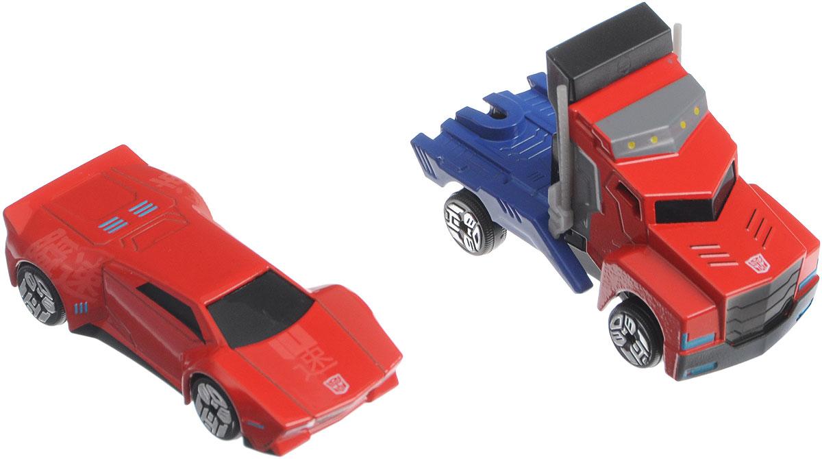 Dickie Toys Набор машинок Optimus Prime & Sideswipe dickie toys игровой набор маяк