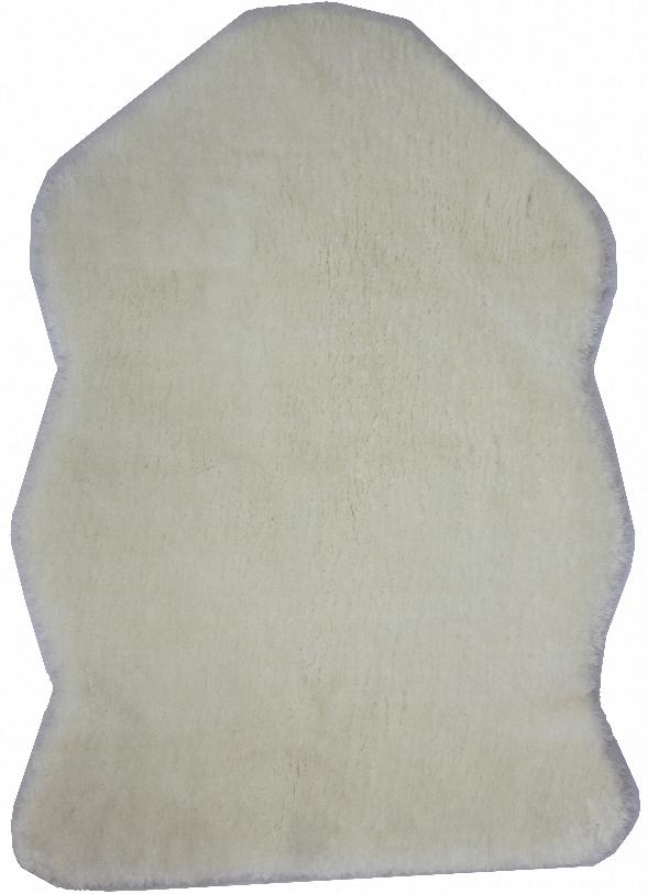 Шкура Kunshan Ccf Home Textile, искусственная, цвет: белый, 55х80 см8Шкура из искусственного меха, максимально имитирующая натуральный, легко впишется в самый изысканный интерьер.