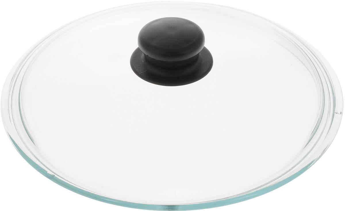 Крышка VGP. Диаметр 24 см68/5/3Крышка VGP изготовлена из термостойкого и экологически чистого стекла с пластиковой ручкой. Изделие удобно в использовании и позволяет контролировать процесс приготовления пищи. Диаметр крышки: 24 см.Диаметр ручки: 4,5 см.Высота ручки: 2,5 см.