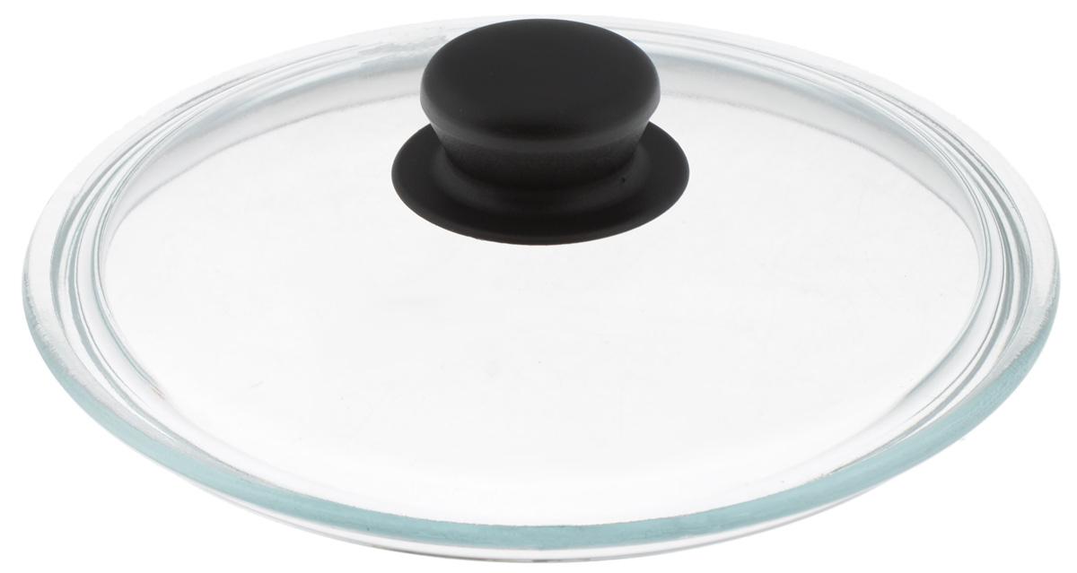 Крышка VGP, стеклянная. Диаметр 22 см16101Крышка VGP изготовлена из термостойкого и экологически чистого стекла с пластиковой ручкой. Изделие удобно в использовании и позволяет контролировать процесс приготовления пищи.Диаметр крышки: 22 см.Диаметр ручки: 4,5 см.Высота ручки: 2,5 см.