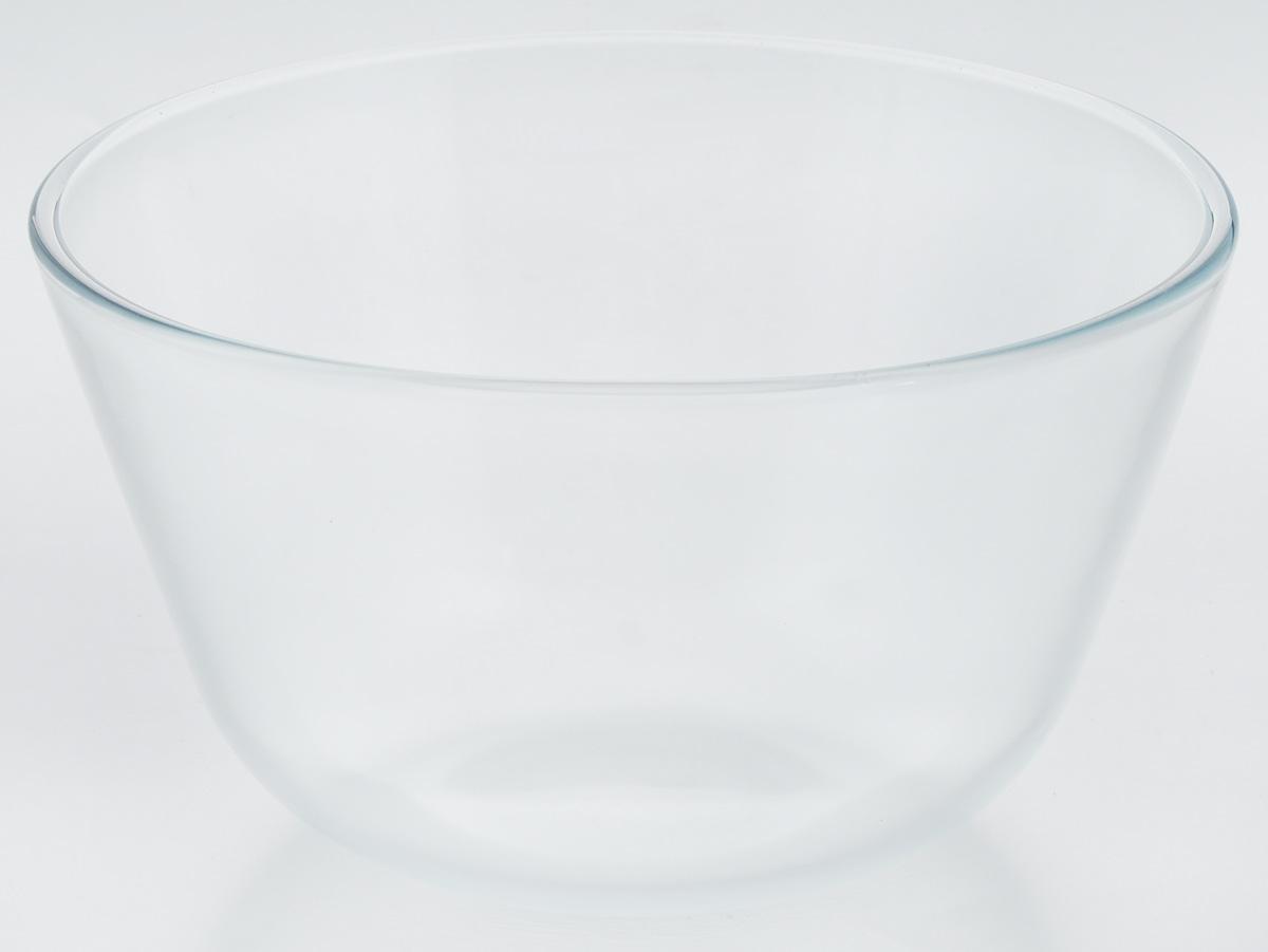 Миска VGP, цвет: прозрачный, 3 л54 009312Миска VGP изготовлена из термостойкого и экологически чистого стекла. Предназначена для приготовления пищи в духовке, жарочном шкафу и микроволновой печи. Миска прекрасно подойдет для хранения и замораживания различных продуктов, а также для сервировки и декоративного оформления праздничного стола.Миска VGP станет незаменимым аксессуаром на кухне для любой хозяйки.Можно мыть в посудомоечной машине. Высота стенки: 13 см. Диаметр миски (по верхнему краю): 22,5 см.