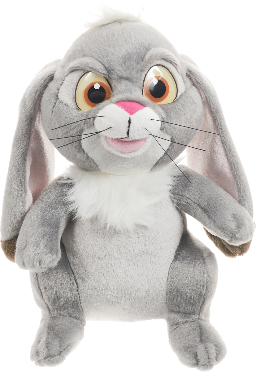 Мульти-Пульти Мягкая озвученная игрушка Кролик Клевер 22 см форма для аппликаций и фильцевания clover клевер и кролик