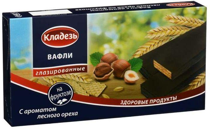 Кладезь вафли с ароматом лесного ореха, 150 г вафли коломенское шоколадные