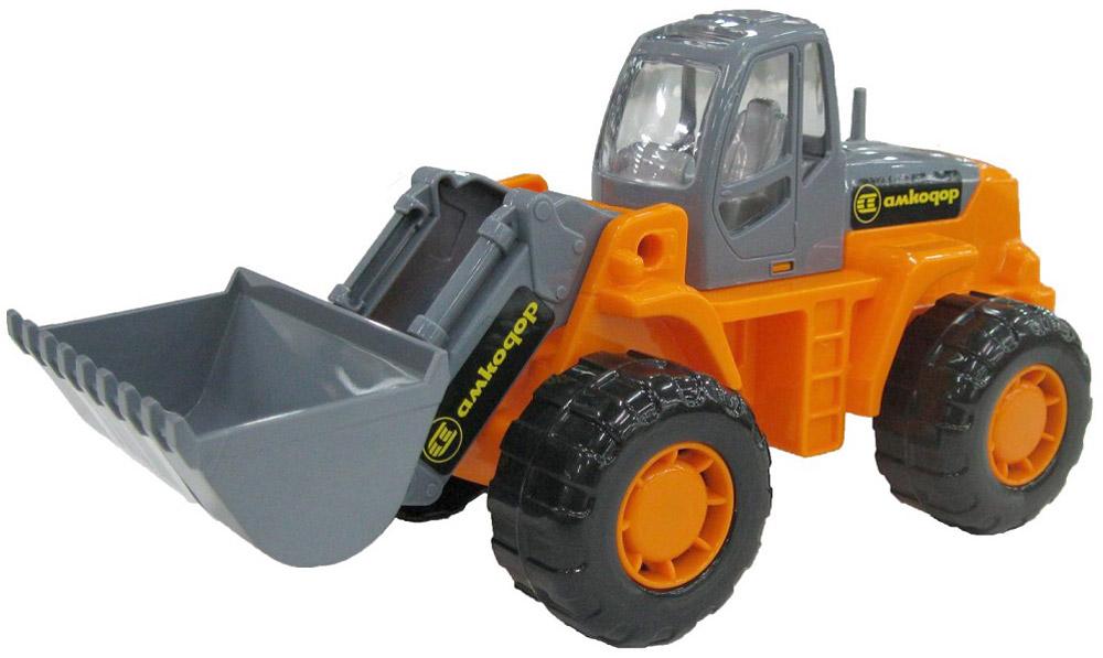 Трактор-погрузчик Умелец, цвет оранжевый