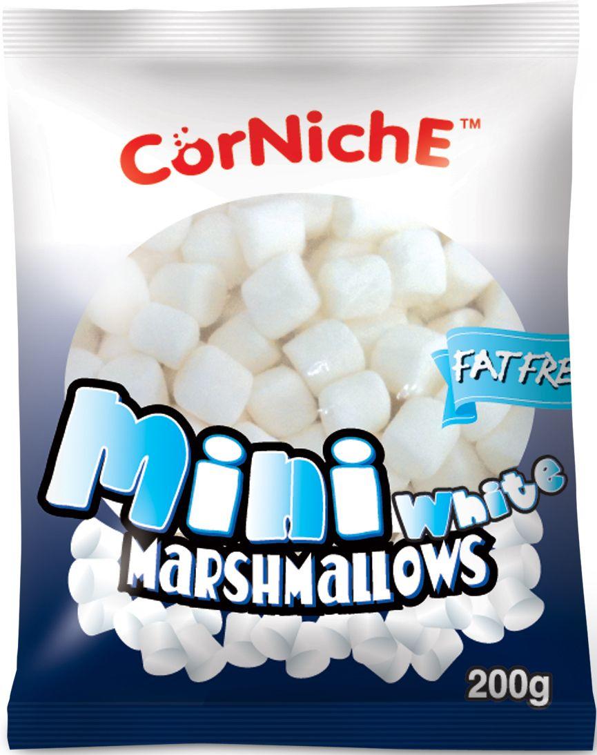 Corniche Marshmallows мини white, 200 г4640000272265Маршмелоу Мини - это те самые аппетитные пушинки, которые плавают в чашке с ароматным кофе, шоколадом или какао. Желанный десерт в любой компании!