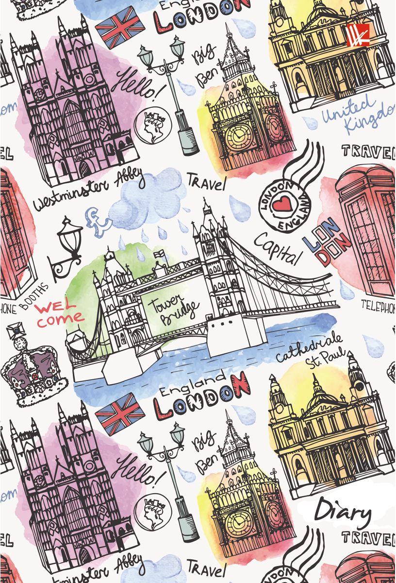 Канц-Эксмо Ежедневник Графика Путешествие по Лондону недатированный 112 листовC13S400035Ежедневник Графика. Путешествие по Лондону недатированный в твердой обложке с поролоном и блестками формата А5-. Ежедневник содержит 112 листов с цветными форзацами. Ежедневник содержит блоки четырех цветов и ляссе.