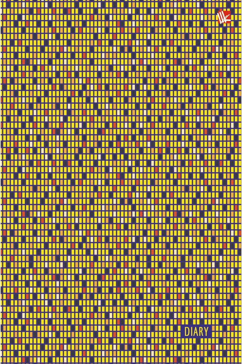 Канц-Эксмо Ежедневник Орнамент Пестрый рисунок полудатированный 192 листа формат А5400036_голубойЕжедневник полудатированный в твердой обложке формата А5, 192 листа. Обложка с матовой ламинацией и выборочным лакированием, форзацы - карта России/мира, бумага офсет 60 г/м2, белая, однокрасочная печать. Обширный справочный материал: календарь на 4 года, таблицы мер, весов, размеров, условных обозначений, часовые пояса, коды регионов и др.