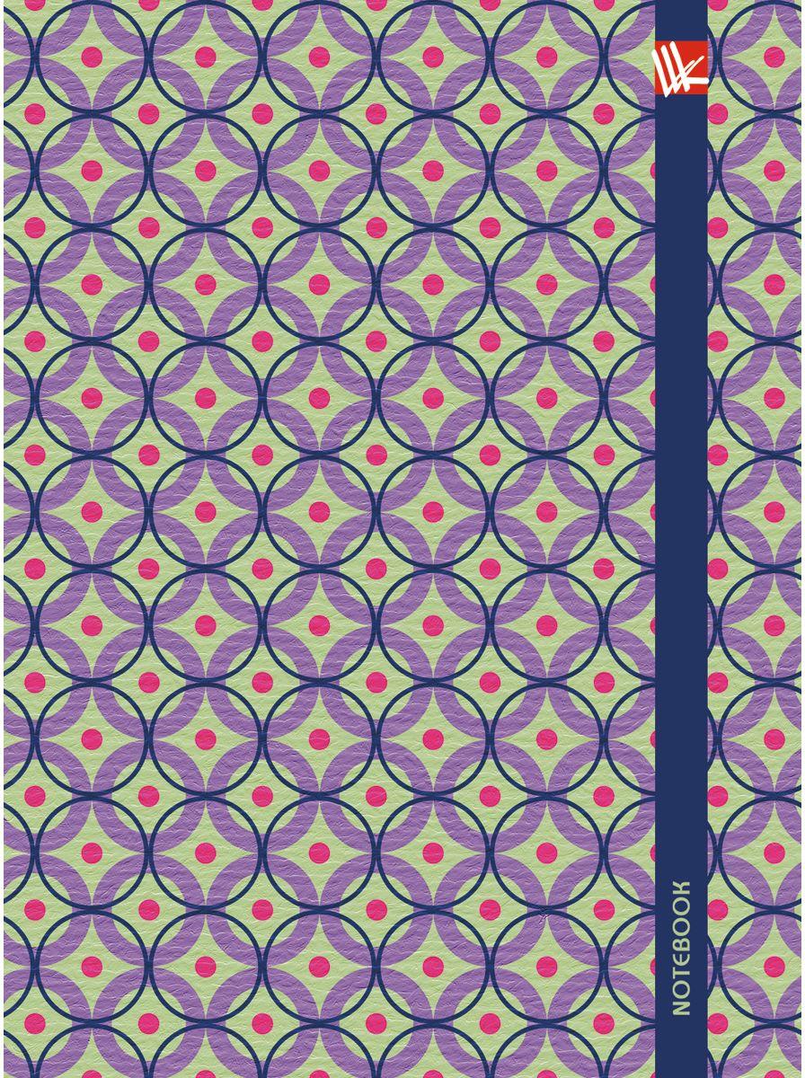 Канц-Эксмо Записная книжка Орнамент Яркие моменты 64 листа в клетку канц эксмо записная книжка орнамент розовые пионы 64 листа в клетку