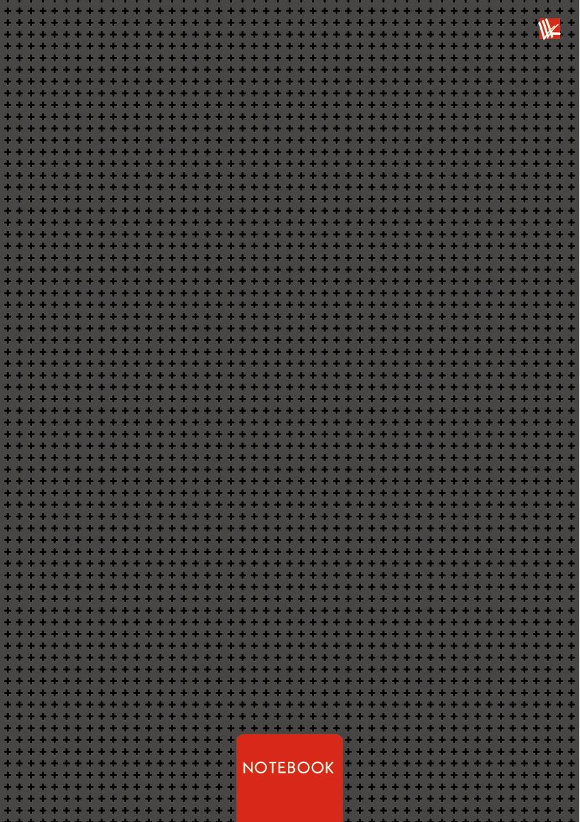 Канц-Эксмо Записная книжка Офисный стиль Минимализм 80 листов в клетку72523WDЗаписная книжка в твердом переплете А4, 80 листов. Обложка с глянцевой ламинацией. Бумага – офсет 60 г/м2, белая, клетка. Сшитый блок.