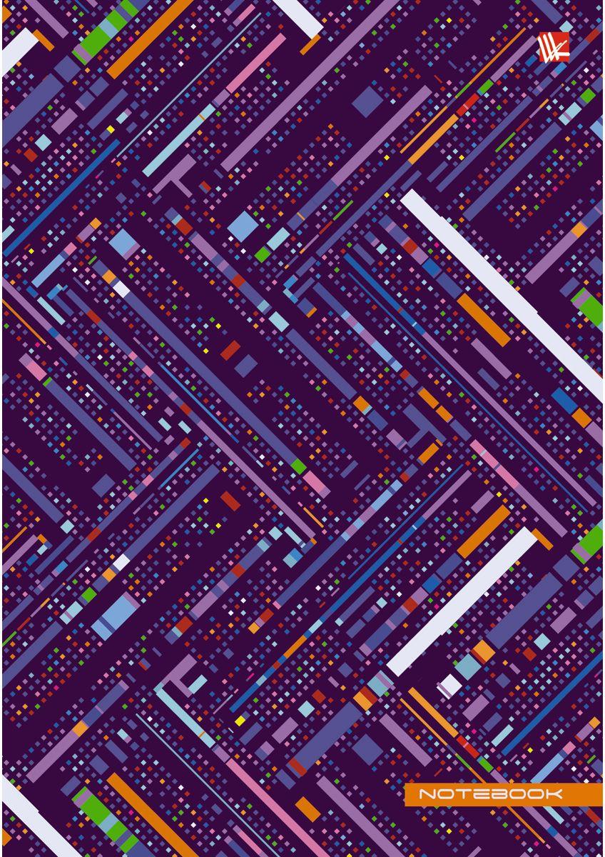 Канц-Эксмо Записная книжка Орнамент Текстуры 130 листов в клетку канц эксмо записная книжка орнамент розовые пионы 64 листа в клетку
