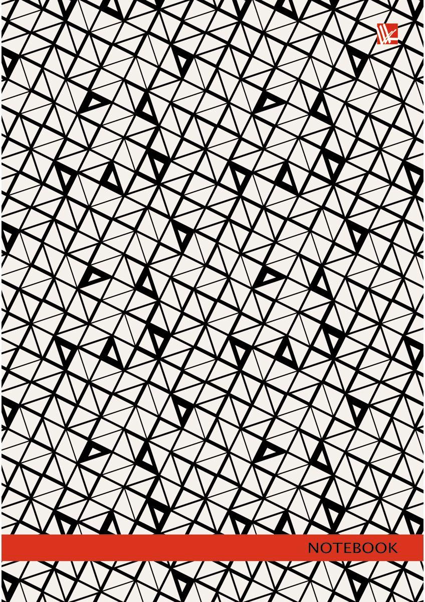 Канц-Эксмо Записная книжка Орнамент Графический узор 130 листов в клетку385224Записная книжка в твердом переплете А5, 130 листов. Обложка с глянцевой ламинацией. Форзацы белые. Бумага – офсет 60 г/м2, белая, клетка. Сшитый блок.