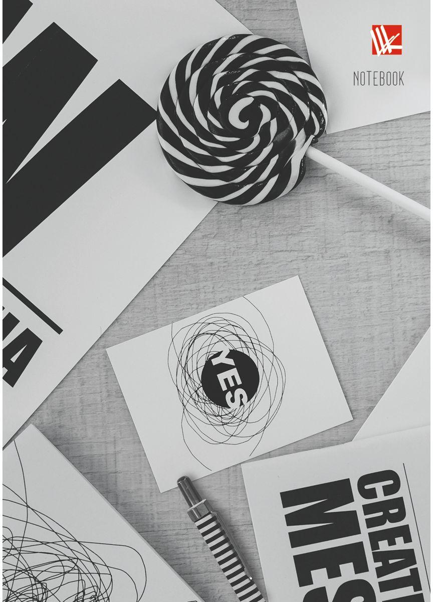 Канц-Эксмо Записная книжка Офисный стиль Креатив 80 листов в клетку72523WDЗаписная книжка в твердом переплете А6, 80 листов. Обложка с глянцевой ламинацией. Форзацы белые. Бумага – офсет 60 г/м2, клетка. Сшитый блок.