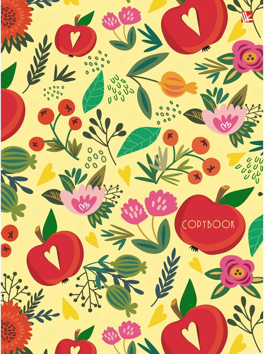 Канц-Эксмо Тетрадь Орнамент Цветущий сад 100 листов в клетку39839Тетрадь на кольцах со сменный блоком А5, 100 листов. Твердая обложка, скругленный корешок, 4 кольца.