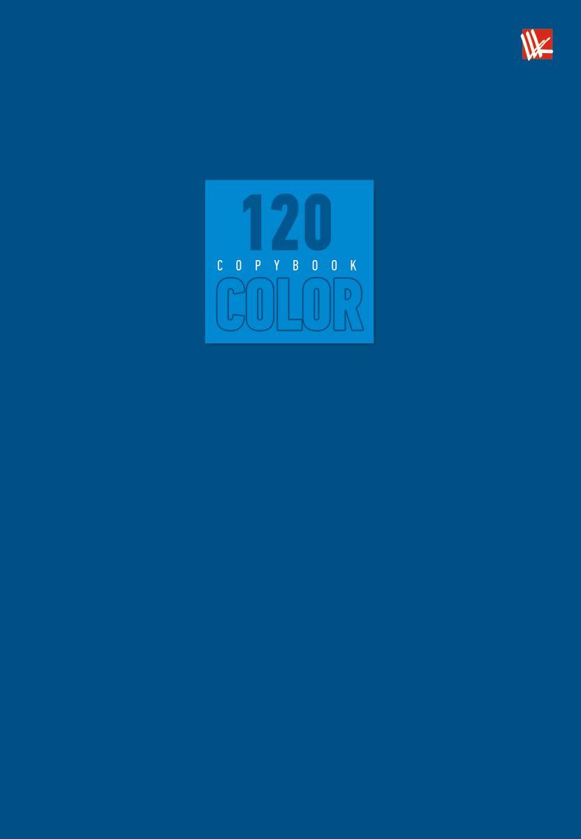 Канц-Эксмо Тетрадь Стиль и цвет 120 листов в клетку цвет синий72523WDТетрадь А5- 120 листов на швейно-клеевом креплении, клетка. Обложка мелованный картон повышенного качества, матовая ламинация. Бумага офсет 60г/м2