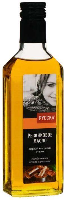 Русска масло рыжиковое нерафинированное, 250 г0120710Рыжиковое сыродавленное нерафинированное масло первого холодного отжима.Рыжик – масличное растение семейства крестоцветных.Вкус масла слегка острый, напоминающий вкус редьки и хрена. По витамину Е ( мощнейший витамин – антиоксидант) – лидер среди масел (1 столовая ложка – дневная норма). По содержанию бета-каротина (из которого в организме синтезируется витамин А) - также лидер.В отличие от других масел – значительное содержание магния! Содержание в масле Омега 3 (38%) Омега 6 (18 %). Самое полезное масло для лечения и профилактики различных заболеваний.