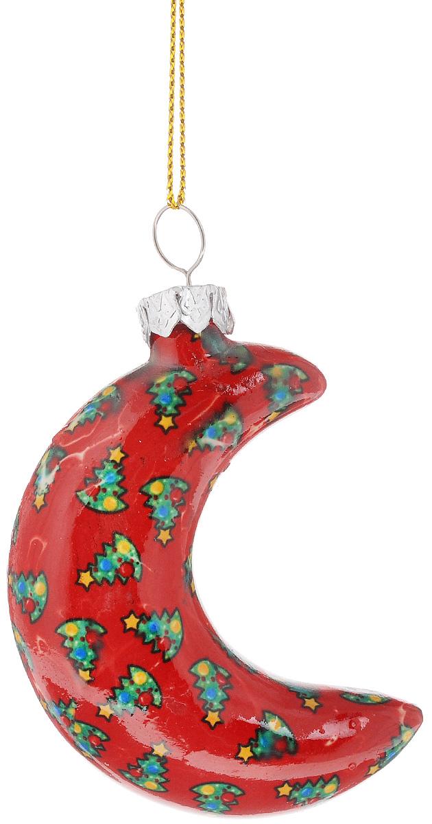 Украшение новогоднее подвесное Lillo, высота 7 смK100Новогоднее подвесное украшение Lillo в форме месяца выполнено из керамики. С помощью специальной петельки украшение можно повесить в любом понравившемся вам месте. Но, конечно, удачнее всего оно будет смотреться на праздничной елке. Елочная игрушка - символ Нового года. Она несет в себе волшебство и красоту праздника. Создайте в своем доме атмосферу веселья и радости, украшая новогоднюю елку нарядными игрушками, которые будут из года в год накапливать теплоту воспоминаний.