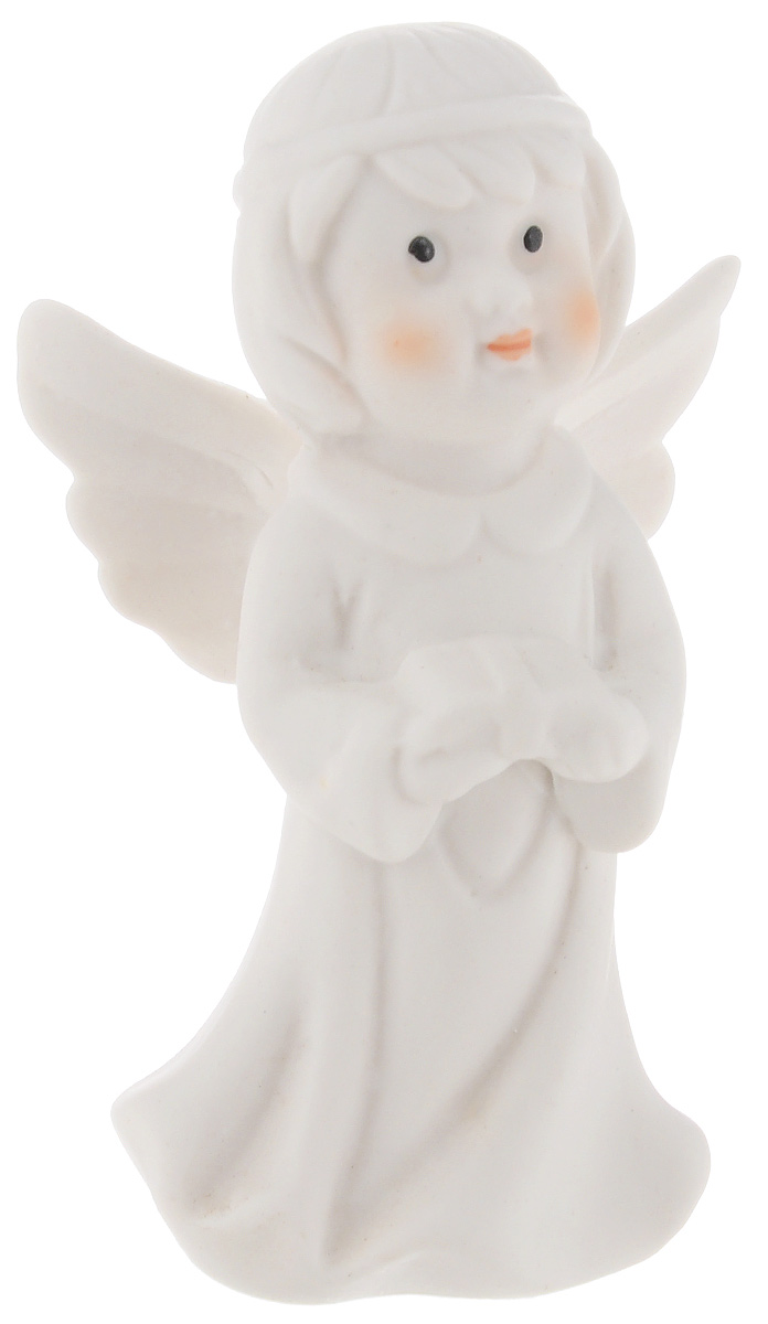 Фигурка декоративная Lillo Ангел, высота 8 см9063311Очаровательная фигурка Lillo Ангел станет оригинальным подарком для всех любителей милых вещиц. Изделие выполнено из керамики в виде ангелочка.Вы можете поставить эту фигурку в любом месте, где она будет удачно смотреться и радовать глаз.
