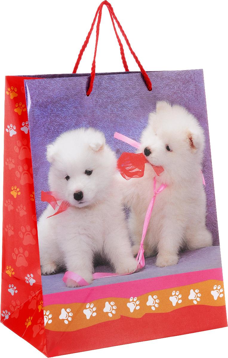 Играем вместе Пакет подарочный Собаки, 26 х 32 х 14 см09840-20.000.00Подарочный пакет Играем вместе Собаки, изготовленный из плотной глянцевой бумаги, станет незаменимым дополнением к выбранному подарку. Для удобной переноски на пакете имеются две ручки из шнурков.Подарок, преподнесенный в оригинальной упаковке, всегда будет самым эффектным и запоминающимся. Окружите близких людей вниманием и заботой, вручив презент в нарядном, праздничном оформлении.