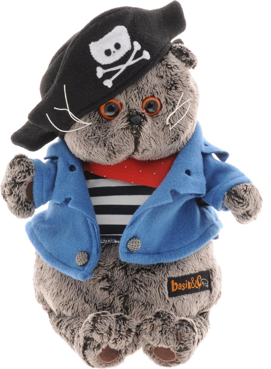 Мягкая игрушка Басик-пират 25 см