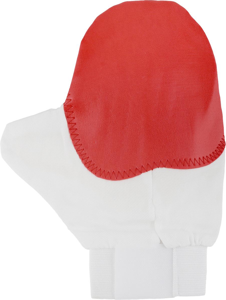 Рукавица для чистки животных Каскад, массажная, с антистатическим эффектом, цвет: красный, белый, желтыйWB8BBOРукавица Каскад предназначена для чистки шерсти у животных. Она выполнена из хлопчатобумажной ткани и имеет вставку с шипами из резины. Благодаря такой рукавице вы сможете удалить старую шерсть и грязь с вашего питомца. Закругленные кончики шипов мягко и бережно воздействуют на кожу животного, создавая массажный эффект. Манжета рукавицы выполнена из эластичной резинки и фиксируется на руке с помощью липучки. Рукавица Каскад отлично подойдет для повседневного ухода за шерстью вашего домашнего питомца.Размер изделия: 24 х 17,5 см.