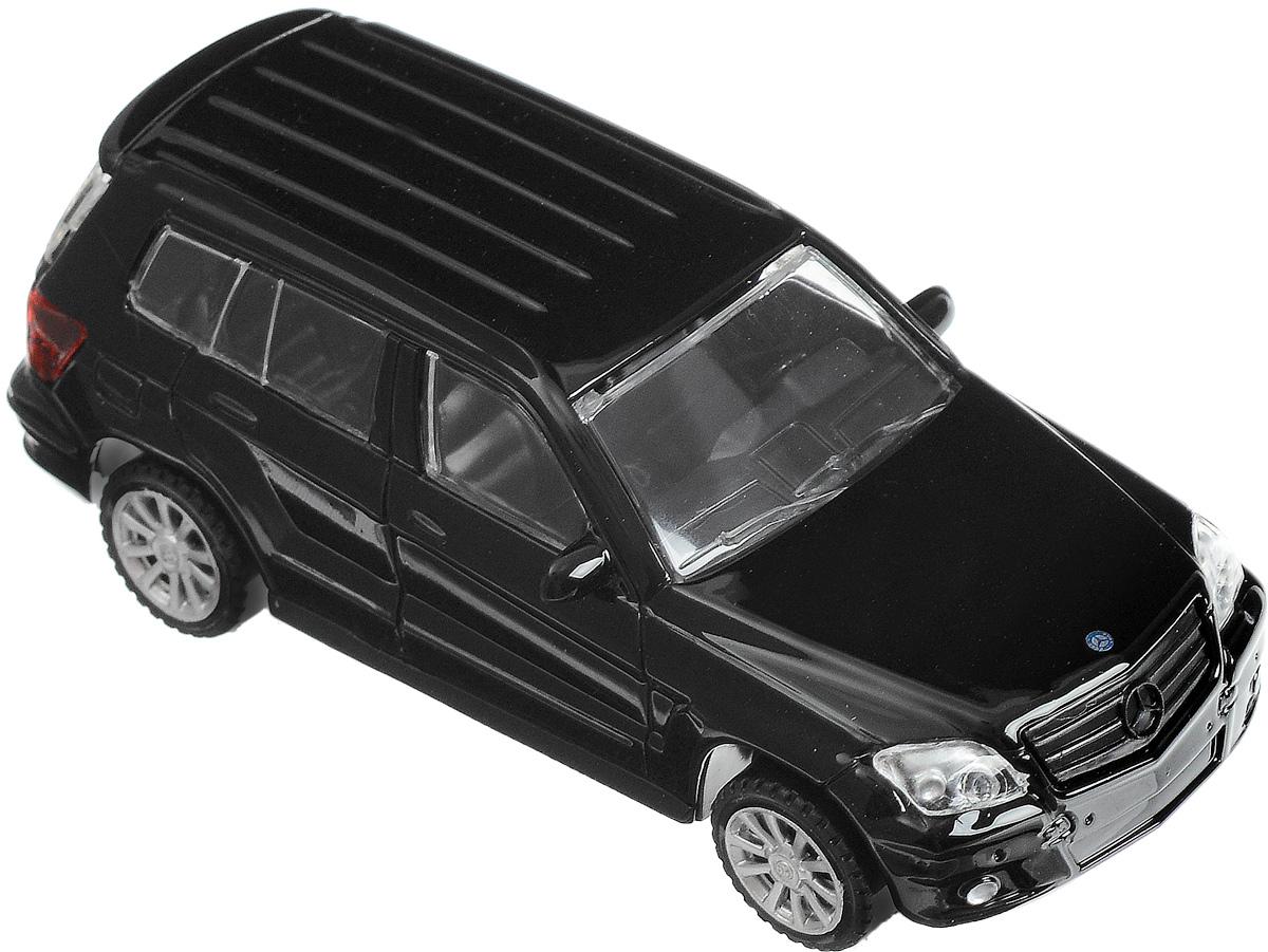 Rastar Модель автомобиля Mercedes-Benz GLK Class цвет черный rastar модель автомобиля mercedes benz s63 amg цвет серебристый