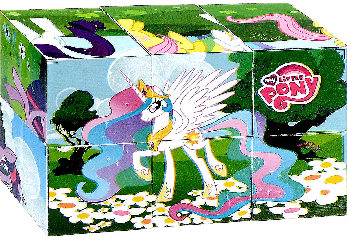 Играем вместе Кубики My Little Pony 01106