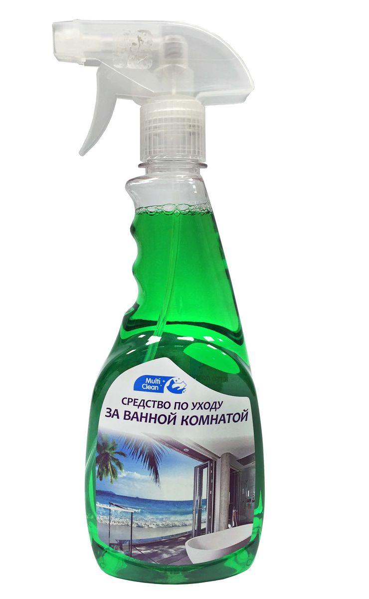 Средство по уходу за ванной комнатой Multiclean, 0,5 л4901301018755Не повреждает межплиточные швы, сохраняет цвет и текстуру покрытия.Не требует тщательного втирания и дополнительной полировки.Придает приятную свежесть и блеск.