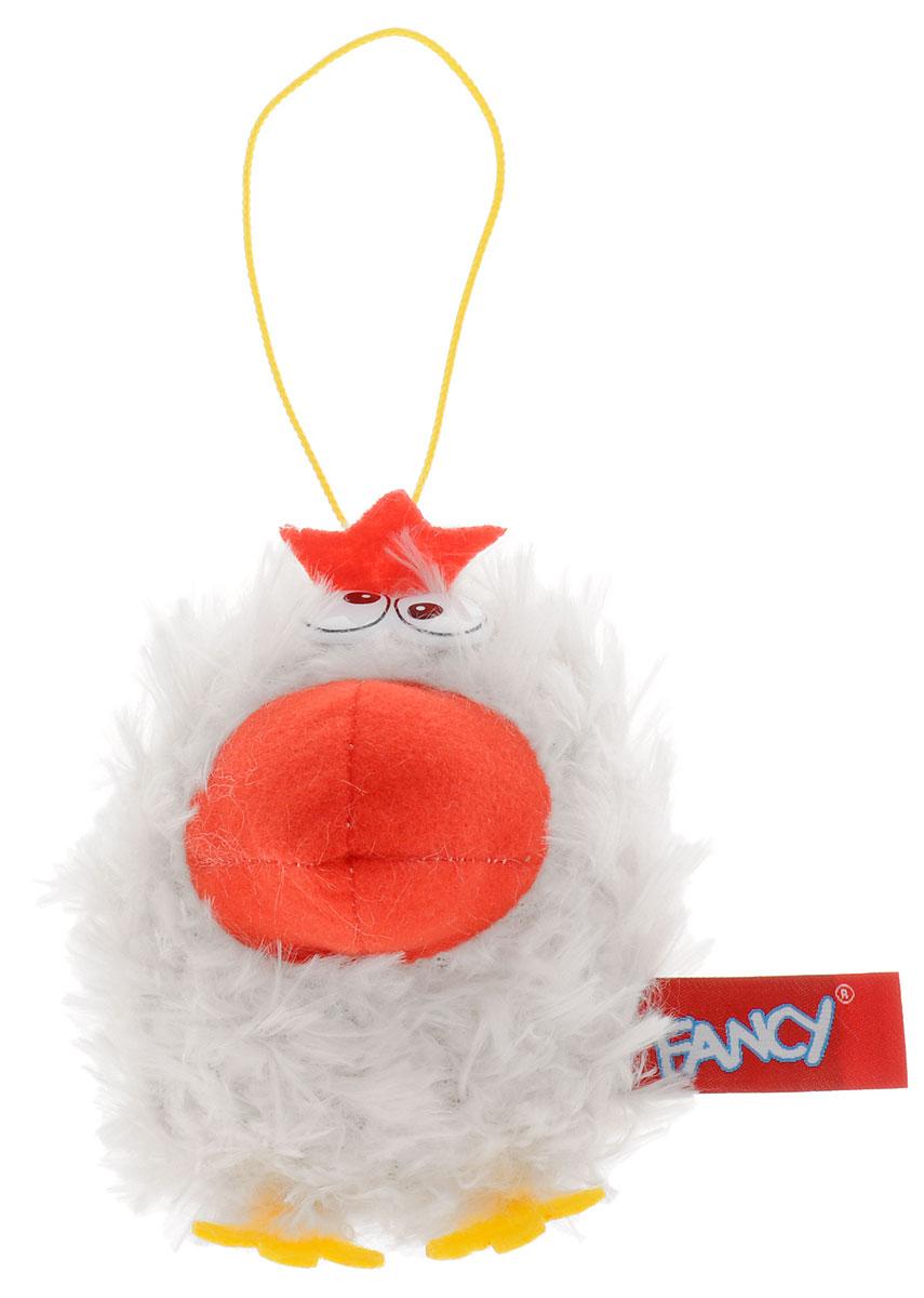 Fancy Мягкая игрушка Курочка 10 см цвет белый