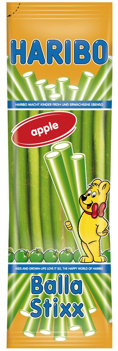 Haribo Balla Stixx Яблоко жевательный мармелад, 200 гифи084Мармеладные палочки со вкусом сочного и спелого яблока!Уважаемые клиенты! Обращаем ваше внимание на то, что упаковка может иметь несколько видов дизайна. Поставка осуществляется в зависимости от наличия на складе.
