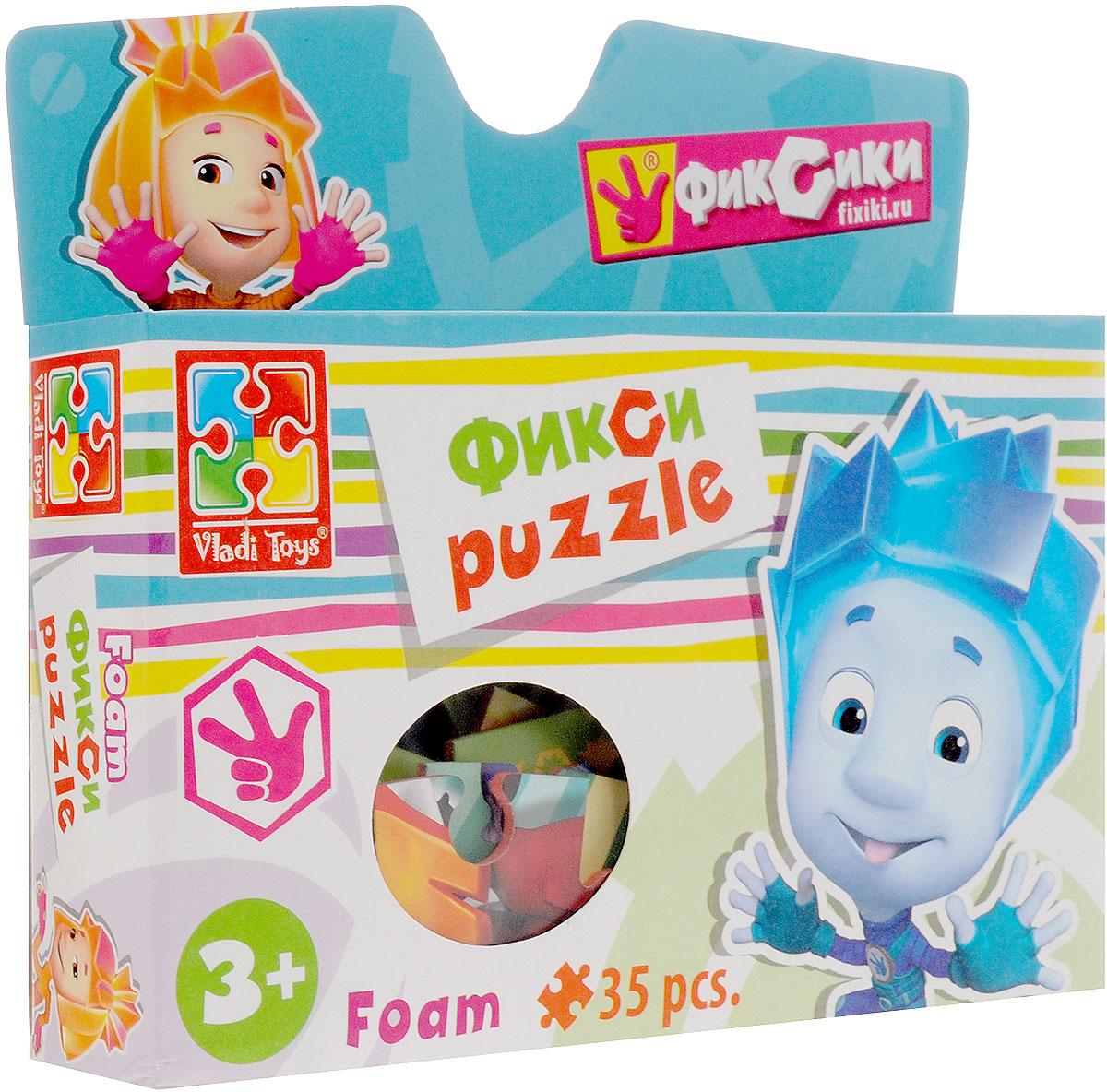 Vladi Toys Пазл для малышей Фиксики фиксики настольная игра поле пазл тыдыщь в подарок мини пазл 20 элементов фиксики