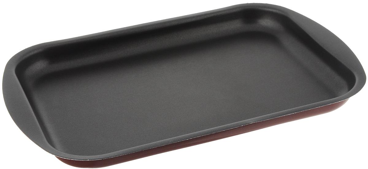 Противень Scovo Expert, с антипригарным покрытием, 34 х 24 х 2,5 смСЭ-052Противень Scovo Expert изготовлен из алюминия с антипригарным покрытием. Внутреннее покрытие Quantum2 Whitford исключает прилипание пищи к поверхности посуды даже с минимальным количеством масла. Покрытие не содержит PFOA, соединений кадмия и свинца, поэтому посуда абсолютно безопасна для здоровья. Внешнее покрытие Piroskan Whitford отличается исключительной термостойкостью и долговечностью. Противень предназначен для использования в духовке. Можно мыть в посудомоечной машине.