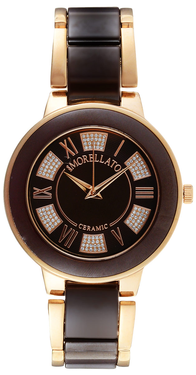 Zakazat.ru: Часы наручные женские Morellato, цвет: золотой, бордово-коричневый. R0153118504