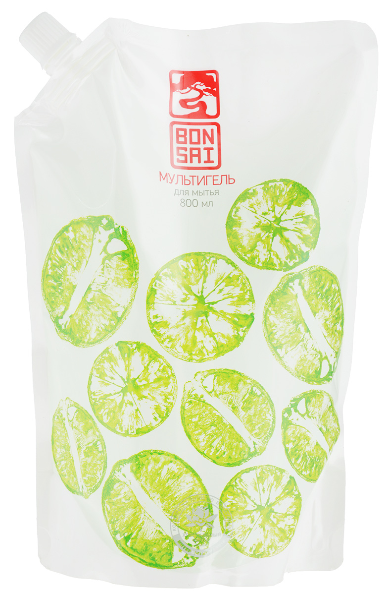 Гель для мытья посуды Bonsai, с ароматом свежего лайма, 800 мл391602Гель для мытья посуды Bonsai содержит природный антисептический, антибактериальный и антиоксидантный компонент - натуральный экстракт лайма. Обладает дезодорирующим эффектом, полностью устраняет неприятные запахи. Прекрасно и абсолютно безопасно очищает посуду и кухонные поверхности, овощи, фрукты, детские принадлежности. Полностью смывается. Специальная формула не сушит руки. Гель эффективен даже в холодной воде. Благодаря уменьшенному расходу наносит меньше вреда окружающей среде. Товар сертифицирован.