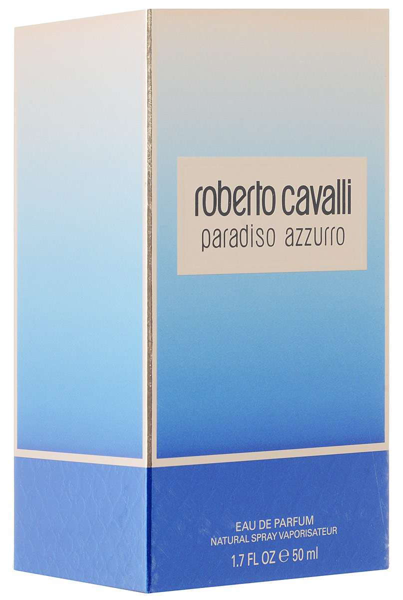 Roberto Cavalli Paradiso Azzurro Парфюмерная вода женская 50 мл5010777139655Женщина Roberto Cavalli Paradiso излучает шарм, радость и свет. Она - уверена и счастлива. Она берет от жизни все и превращает каждый ее миг в бесценную возможность, которую нужно использовать и ценить. Утонченный цветочно-лесной аромат стал симфонией солнечных нот, навеянных итальянскими пейзажами. Дразнящая прелюдия бергамота и лаванды, щедрая смесь дикого жасмина и кипариса, сандала и ванили . Это свежее и радостное начало, искрящееся жизнью и светом. За ним следует главная нота - дикий жасмин, вносящий роскошные обертоны ненасытной чувственности.Верхняя нота: Бергамот, Лаванда и Танжерин.Средняя нота: Дикий жасмин, Водные ноты, Яблоко, Персик, Роза и Тубероза.Шлейф: Кипарис, Кашмирское дерево, Древесный янтарь, Сандал и Ваниль.Утонченный цветочно-лесной аромат стал симфонией солнечных нот, навеянных итальянскими пейзажами.Дневной и вечерний аромат.