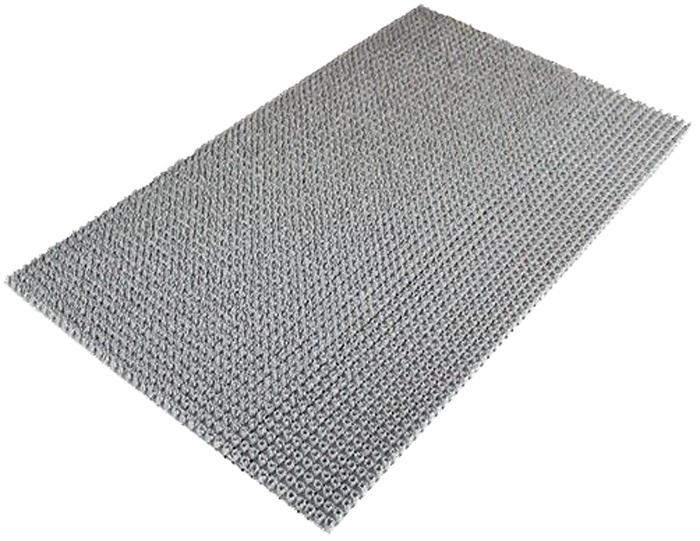 Коврик Sindbad, напольный, цвет: серый, 45 х 75 см. 70516050Коврик Sindbad изготовлен из прочного полиэтилена и имеет щетинистую поверхность. Коврик легко моется водой. Изделие не меняет цвет со временем, не гниет, что гарантирует долгий срок службы.Эффективно очищает обувь от сильных загрязнений. Коврик обладает противоскользящим эффектом.Изделие прекрасно защищает от песка, грязи и пыли.