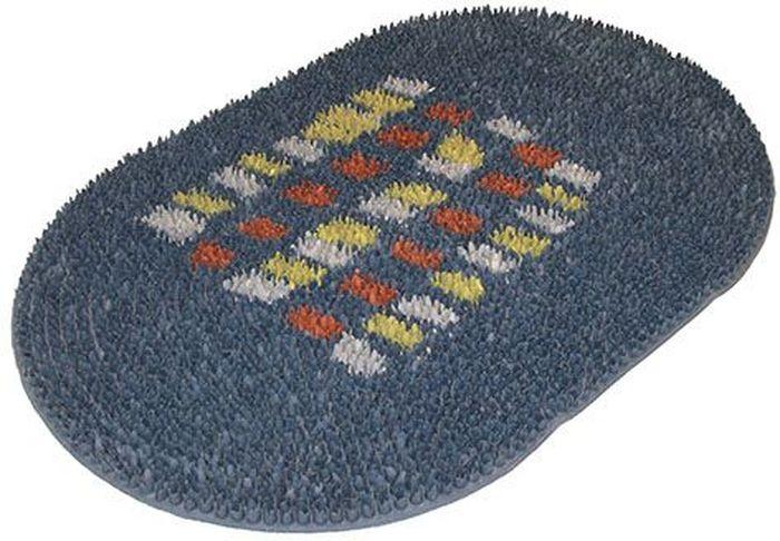 Коврик напольный Sindbad, цвет: серый, 40 x 60 см. FRG 05GY41619Коврик Sindbad изготовлен из прочной резины высокого качества. Коврик легко моется водой. Изделие не меняет цвет со временем, не гниет, что гарантирует долгий срок службы.Эффективно очищает обувь от сильных загрязнений. Коврик обладает противоскользящим эффектом.Изделие прекрасно защищает от песка, грязи и пыли.