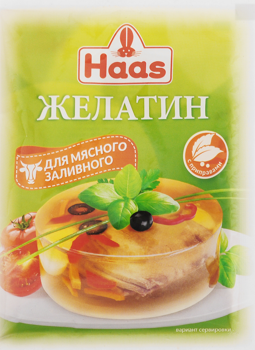 Haas желатин со специями для мясного заливного, 25 г23506-PЖелатин со специями для мясного заливного Haas обеспечивает блюду сбалансированный вкус, простоту в приготовлении.Уважаемые клиенты! Обращаем ваше внимание, что полный перечень состава продукта представлен на дополнительном изображении.Уважаемые клиенты! Обращаем ваше внимание на то, что упаковка может иметь несколько видов дизайна. Поставка осуществляется в зависимости от наличия на складе.