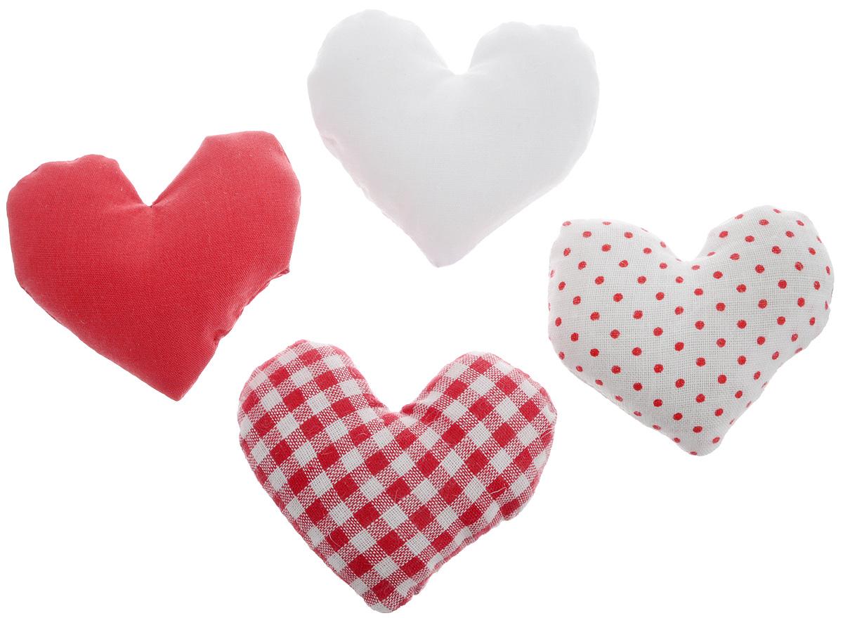 Ароматическое саше для белья B&H Snow Day, цвет: красный, белый, 4 шт. BH1008QL601279Ароматическое саше для белья B&H Snow Day в форме сердечек подарит вашему белью чудесный приятный аромат. Саше можно положить в платяной шкаф, ящик для белья или комод. В результате ваше белье окутано легким ароматным облаком.Состав: хлопковая ткань, ароматизаторы.