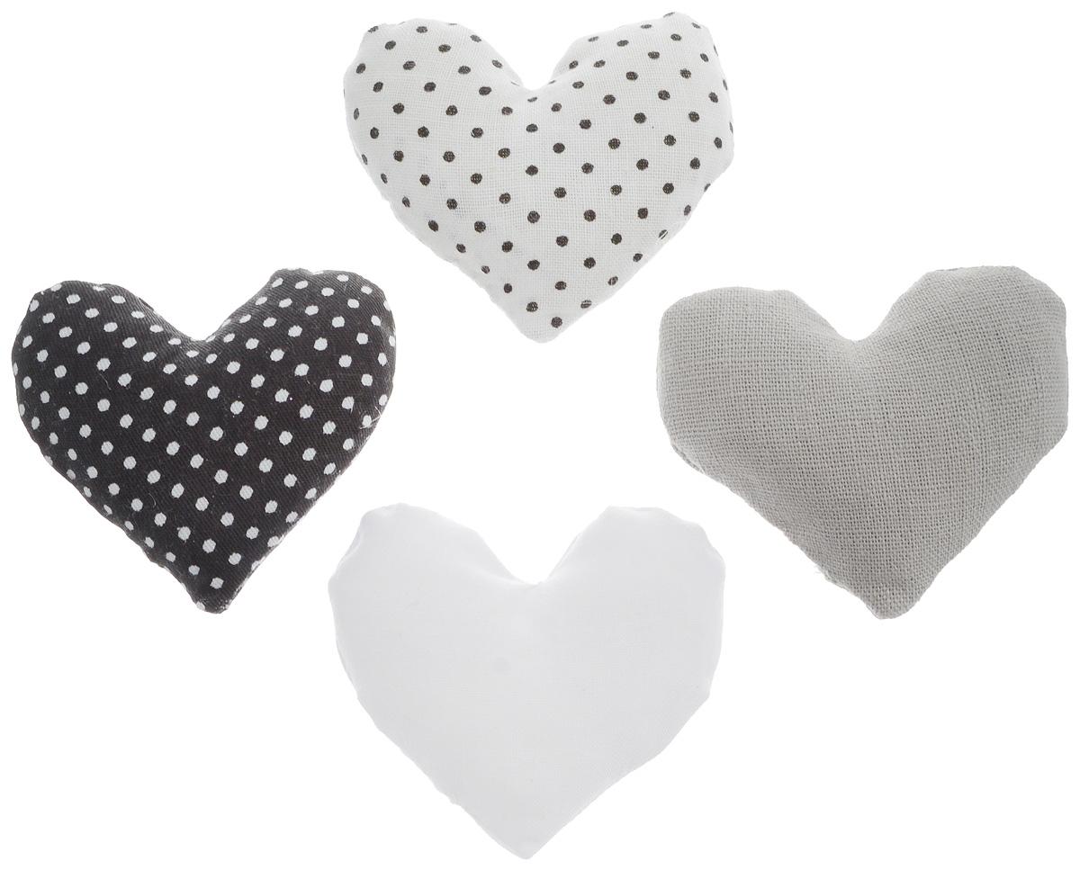 Ароматическое саше для белья B&H Snow Day, цвет: черный, белый, серый, 4 штВСП 6Ароматическое саше для белья B&H Snow Day в форме сердечек подарит вашему белью чудесный приятный аромат. Саше можно положить в платяной шкаф, ящик для белья или комод. В результате ваше белье окутано легким ароматным облаком.Состав: хлопковая ткань, ароматизаторы.