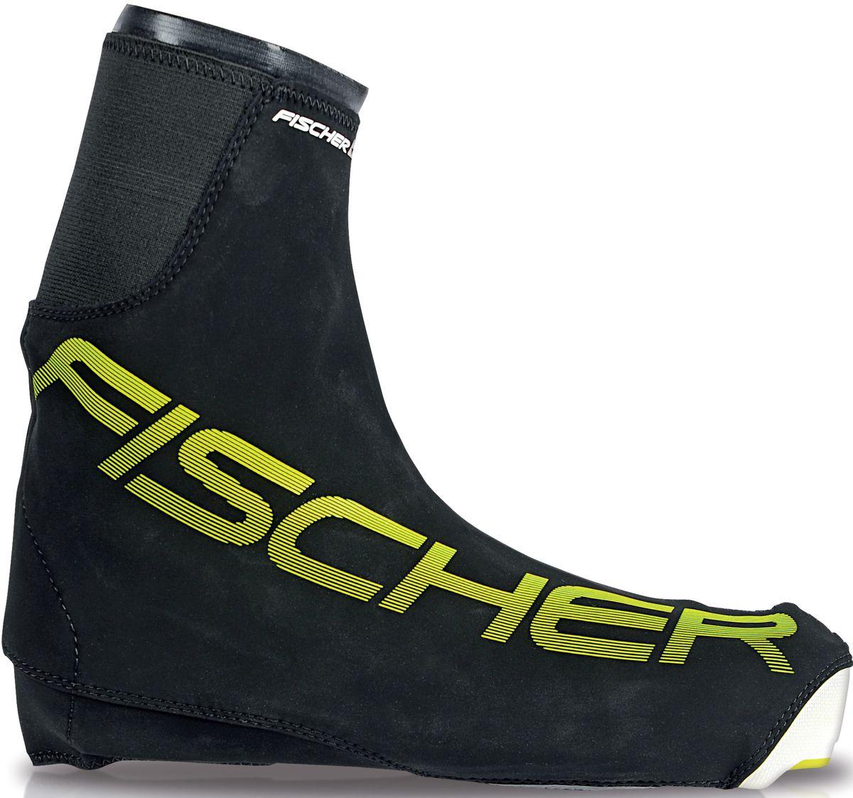 Чехлы для лыжных ботинок Fischer Bootcover Race, размер XXL. S43115NN75 KidsчПрактичный и удобный чехол для лыжных ботинок Fischer BootCover Race станет незаменимым помощником на тренировках, разминках и просто в холодную погоду. Он надежно защитит ноги от холода и влаги.