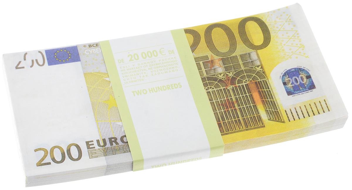 Блокнот Эврика Пачка 200 евро, 90 листовRG-D31SБлокнот Эврика Пачка 200 евро - это яркий аксессуар для тех, кто ценит практичные и оригинальные вещи. Блокнот состоит из 90 разноцветных линованных листов. Такой оригинальный блокнот поможет вам записать важные мысли и заметки, а его внешний вид не позволит затеряться среди других вещей на вашем столе.Размер одного листа: 7,3 х 15,5 см.