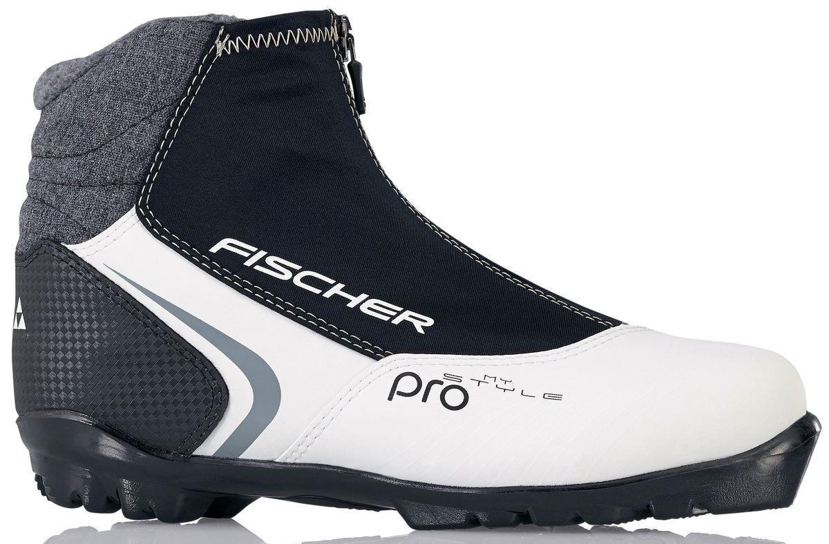 Ботинки лыжные женские Fischer XC Pro My Style, цвет: черный, белый. S29015. Размер 35S29015Ботинки лыжные женские Fischer XC Pro My Style - это стильная модель для лыжных прогулок. Женская анатомическая колодка обеспечивает максимальный комфорт. Высокий профиль гарантирует наилучшую поддержку голеностопа.ТЕХНОЛОГИИ:LADIES FIT CONCEPTДля женской целевой группы разработан свой тип колодки, который обеспечивает наилучший комфорт при катании и максимальную передачу энергии.INTERNAL MOLDED HEEL CAPВнутренняя пластиковая вставка анатомической формы в пяточной части очень легкая и термоформируемая.LACE COVERДополнительная защита шнуровки предотвращает проникновение влаги и холода. CLEANSPORT NXTСпециальная пропитка подкладки и стелек ботинок. Система из полезных микробов, которые устраняют неприятный запах.