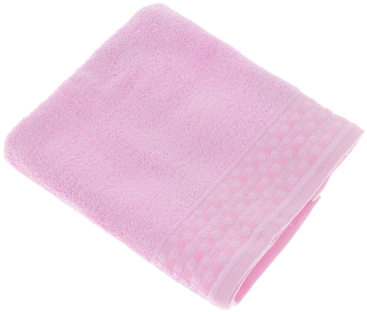 Полотенце Tete-a-Tete Сердечки, цвет: розовый, 50 х 90 см98299571Полотенце Tete-a-Tete Сердечки выполнено из 100% хлопка. Изделие отлично впитывает влагу, быстро сохнет, сохраняет яркость цвета и не теряет форму даже после многократных стирок. Такое полотенце очень практично и неприхотливо в уходе. Оно создаст прекрасное настроение и украсит интерьер в ванной комнате. Полотенце упаковано в красивую коробку и может послужит отличной идеей для подарка.