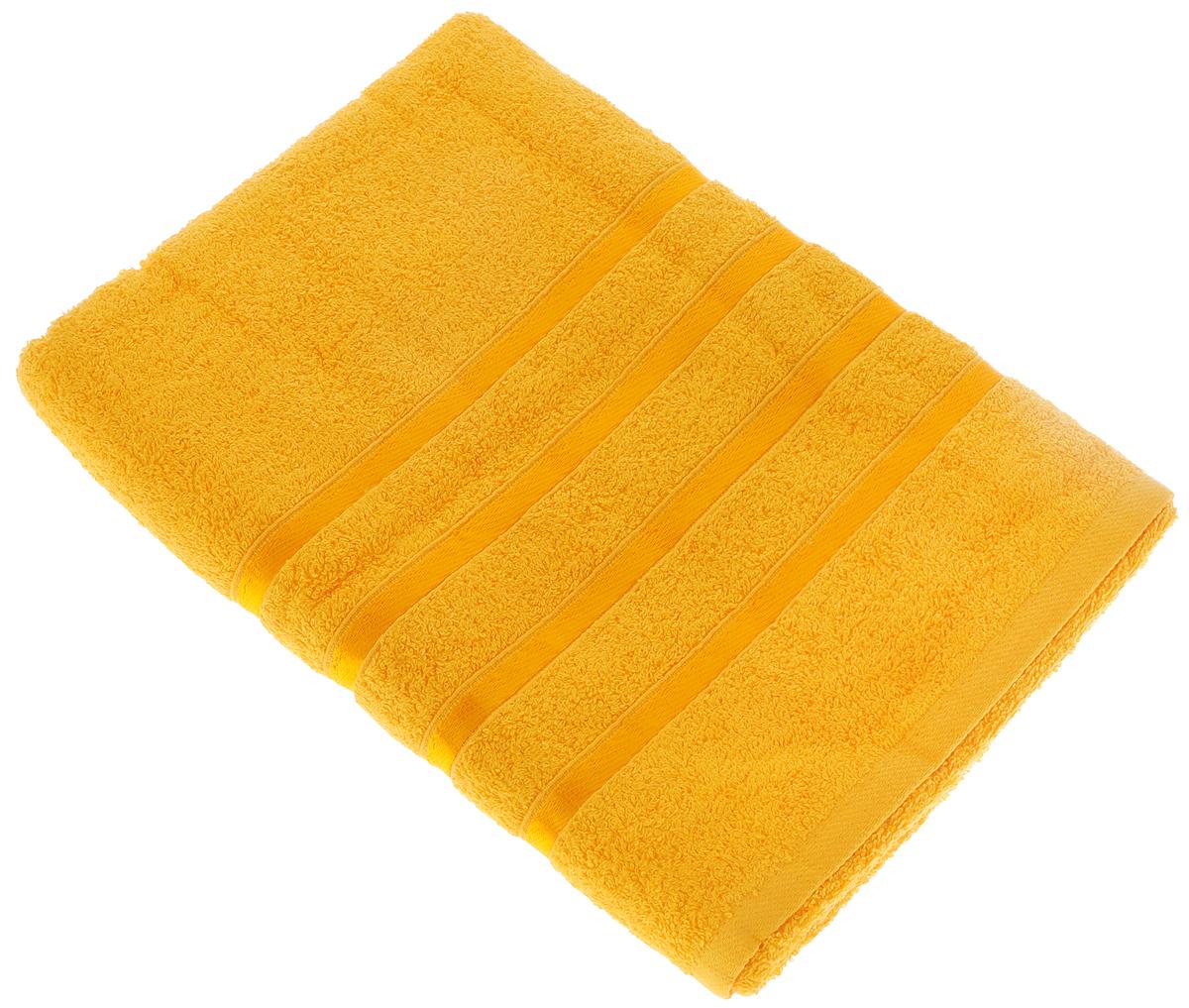 Полотенце Tete-a-Tete Ленты, цвет: ярко-желтый, 70 х 135 см1004900000360Полотенце Tete-a-Tete Ленты выполнено из натуральной махровой ткани (100% хлопок). Изделие отлично впитывает влагу, быстро сохнет, сохраняет яркость цвета и не теряет форму даже после многократных стирок. Полотенце очень практично и неприхотливо в уходе. Оно станет достойным выбором для вас и приятным подарком для ваших близких.