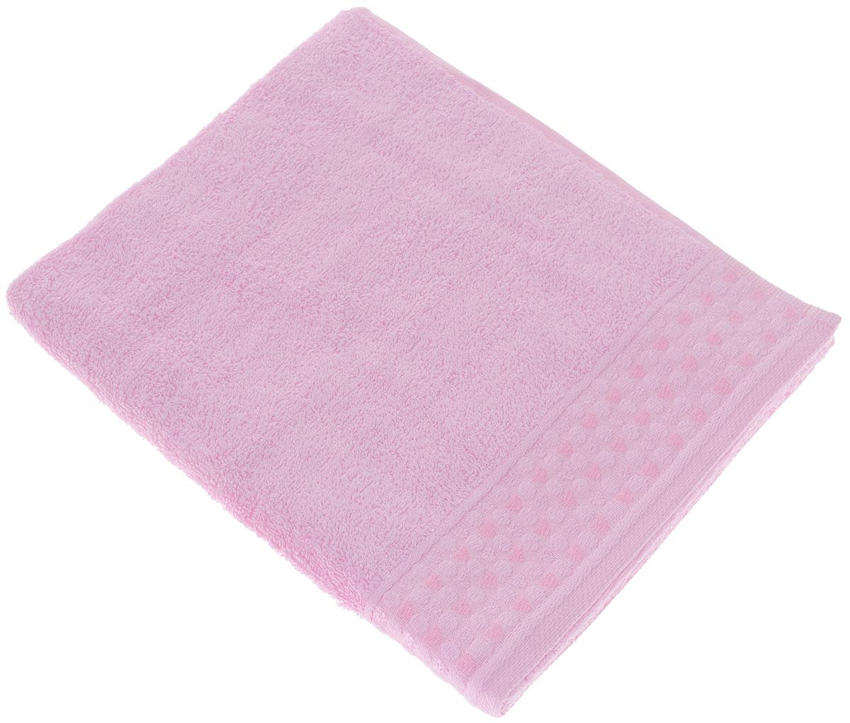 Полотенце Tete-a-Tete Сердечки, цвет: розовый, 50 х 90 см391602Полотенце Tete-a-Tete Сердечки выполнено из натурального 100% хлопка. Бордюр полотенца декорирован сердечками и горошком. Изделие мягкое, отлично впитывает влагу, быстро сохнет, сохраняет яркость цвета и не теряет форму даже после многократных стирок. Полотенце Tete-a-Tete Сердечки очень практично и неприхотливо в уходе. Оно легко впишется в любой интерьер благодаря своей нежной цветовой гамме.