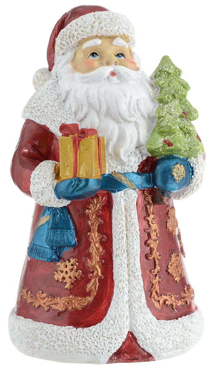 Фигурка новогодняя Winter Wings Дед Мороз, высота 12,5 смN181792Фигурка новогодняя Winter Wings Дед Мороз прекрасно подойдет для праздничного декора вашего дома. Изделие выполнено из полирезина.Такое оригинальное украшение оформит интерьер вашегодома или офиса в преддверии Нового года. Оригинальныйдизайн и красочное исполнение создадут праздничноенастроение. Кроме того, это отличный вариант подаркадля ваших близких и друзей.