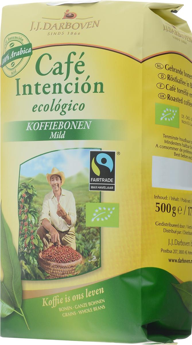 J.J. Darboven Intencion Ecologico кофе в зернах, 500 г4006581020761Кофе в зернах J.J. Darboven Intencion Ecologico - кофе высшего качества, закупается напрямую с фермерских хозяйств, которые выращивают кофе на высокогорных плантациях, сертифицированных как экологически чистые по стандартам био.Бодрящий кофейный напиток, поднимает настроение, тонизирует. Обладает удивительным вкусом и нежным ароматом.