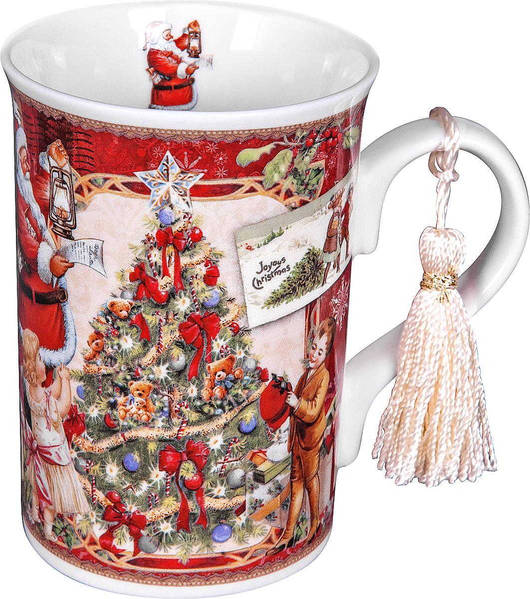 Кружка Mister Christmas Дед Мороз и дети, высота 11 см54 009312Кружка Mister Christmas Дед Мороз и дети изготовлена из качественного глазурованного фарфора. Внешние стенки декорированы красивыми новогодними рисунками. Такая кружка согреет вас горячим напитком и станет неизменным атрибутом чаепития.Отличный новогодний подарок для друзей и близких.Кружка упакована в новогоднюю подарочную коробку.