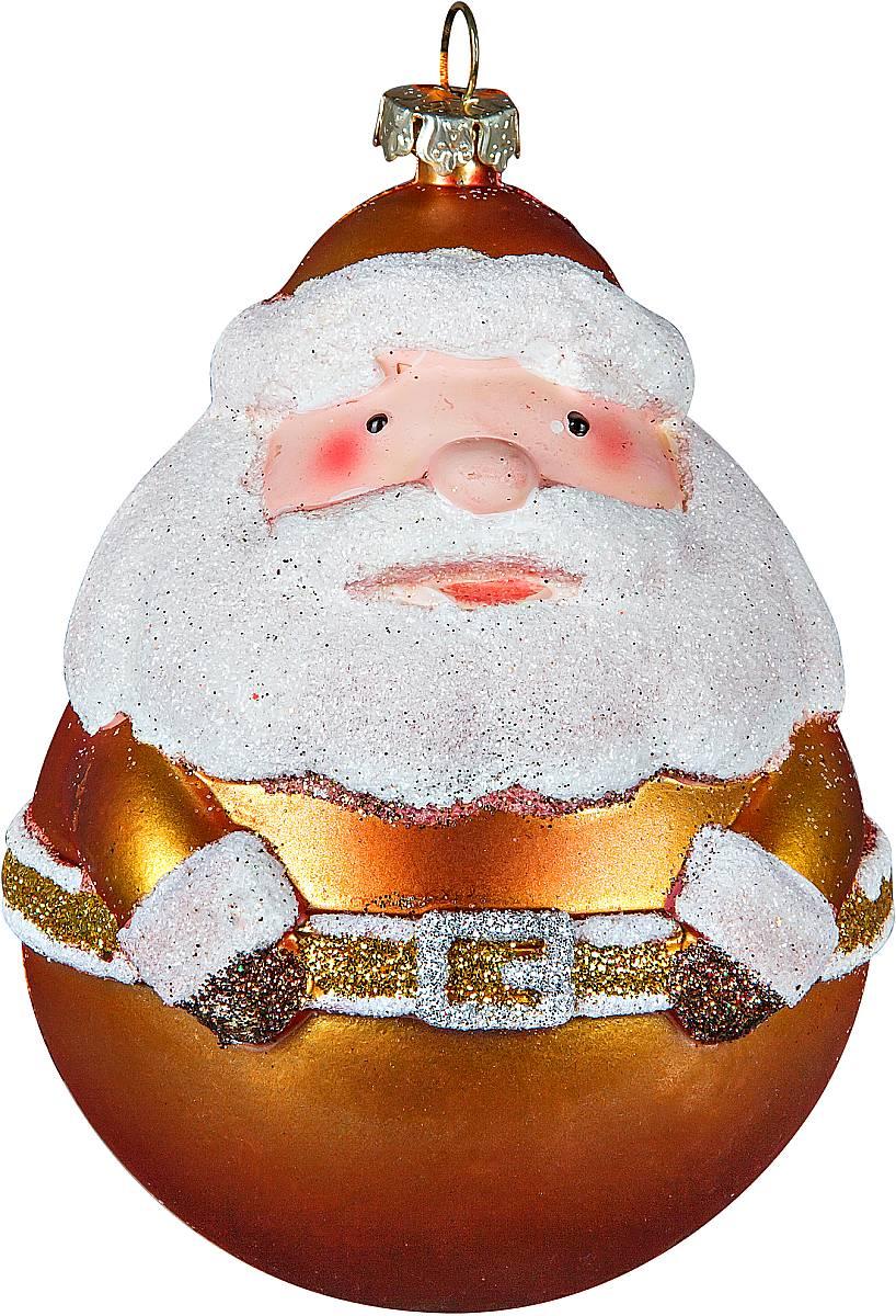 Украшение новогоднее подвесное Mister Christmas Дед Мороз, цвет: бронзовый, высота 11 смCHL-500DRНовогоднее подвесное украшение Mister Christmas Дед Мороз прекрасно подойдет для праздничного декора новогодней ели. Украшение выполнено из пластика. Для удобного размещения на елке предусмотрена петелька. Елочная игрушка - символ Нового года. Она несет в себе волшебство и красоту праздника. Создайте в своем доме атмосферу веселья и радости, украшая новогоднюю елку нарядными игрушками, которые будут из года в год накапливать теплоту воспоминаний.